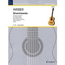 Schott Divertimento Op. 38, WeV P. 13 (Guitar and Piano) Guitar Series Softcover