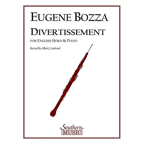 Southern Divertissement (English Horn) Southern Music Series Composed by Eugene Bozza-thumbnail