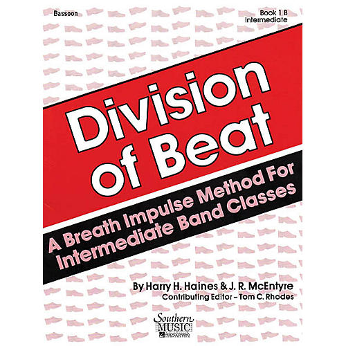 Southern Division of Beat (D.O.B.), Book 1B (Conductor's Guide) Concert Band Level 1 Arranged by Tom Rhodes