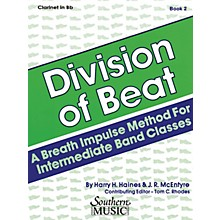 Southern Division of Beat (D.O.B.), Book 2 (Baritone T.C.) Southern Music Series Arranged by Rhodes, Tom