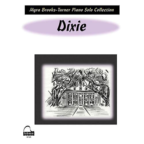 SCHAUM Dixie (NFMC 2016-2020 Federation Festivals Bulletin) Educational Piano Book (Level Early Advanced)-thumbnail