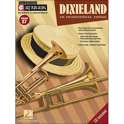 Hal Leonard Dixieland - Jazz Play-Along Volume 87 (Book/CD)