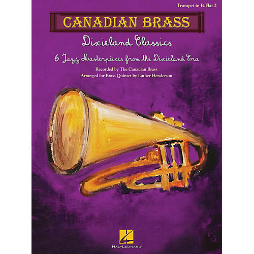 Canadian Brass Dixieland Classics Brass Ensemble Series by Canadian Brass Arranged by Luther Henderson-thumbnail