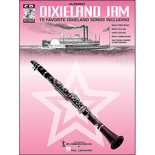 Hal Leonard Dixieland Jam - 15 Favorite Dixieland Songs for Clarinet Book/CD Pkg