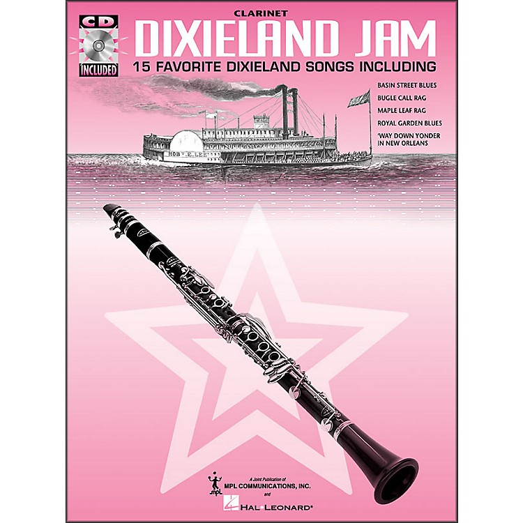 Hal LeonardDixieland Jam - 15 Favorite Dixieland Songs for Clarinet Book/CD Pkg