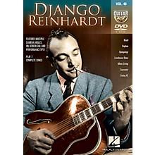 Hal Leonard Django Reinhardt (Guitar Play-Along DVD Volume 40) Guitar Play-Along DVD Series DVD by Django Reinhardt