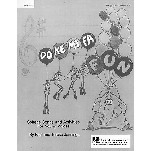 Hal Leonard Do Re Mi Fa Fun - Solfege Songs and Activities (Resource) Singer Composed by Teresa Jennings-thumbnail