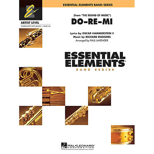 Hal Leonard Do Re Mi (from The Sound of Music) Concert Band Level 1 Arranged by Paul Lavender-thumbnail
