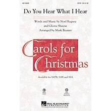 Hal Leonard Do You Hear What I Hear? ShowTrax CD Arranged by Mark Brymer