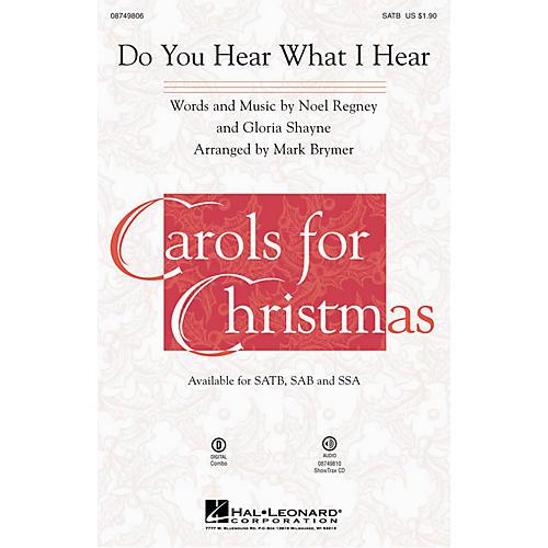Hal Leonard Do You Hear What I Hear? ShowTrax CD Arranged by Mark Brymer-thumbnail