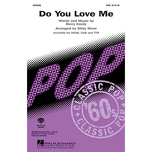 Hal Leonard Do You Love Me SAB Arranged by Kirby Shaw-thumbnail