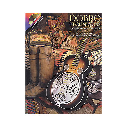 Hal Leonard Dobro Techniques for Bluegrass and Country Music (Book/CD)-thumbnail