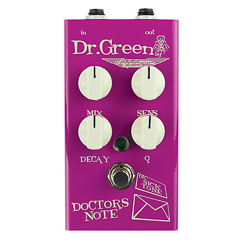 Dr. Green Doctor's Note Envelope Filter Guitar Effects Pedal-thumbnail