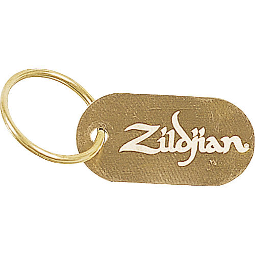Zildjian Dog Tag Key Chain-thumbnail