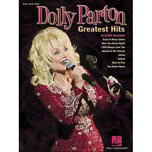 Hal Leonard Dolly Parton - Greatest Hits arranged for piano, vocal, and guitar (P/V/G)