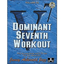 Jamey Aebersold Dominant Seventh Workout Book and CDs