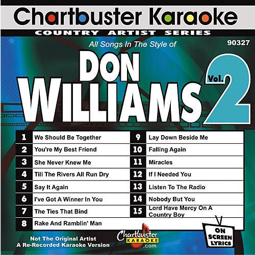 Chartbuster Karaoke Don Williams Volume 2 Karaoke CD+G