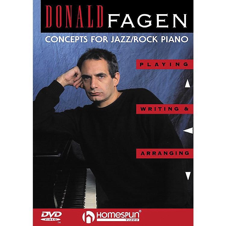 HomespunDonald Fagen - Concepts for Jazz/Rock Piano (DVD)