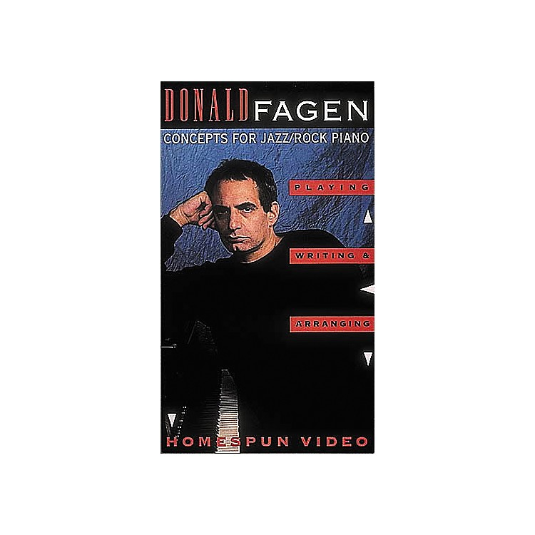 Hal Leonard Donald Fagen Jazz/Rock Piano VHS Video