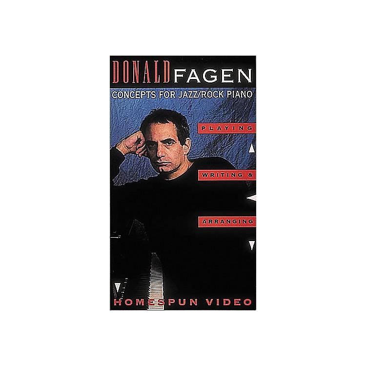 Hal LeonardDonald Fagen Jazz/Rock Piano VHS Video
