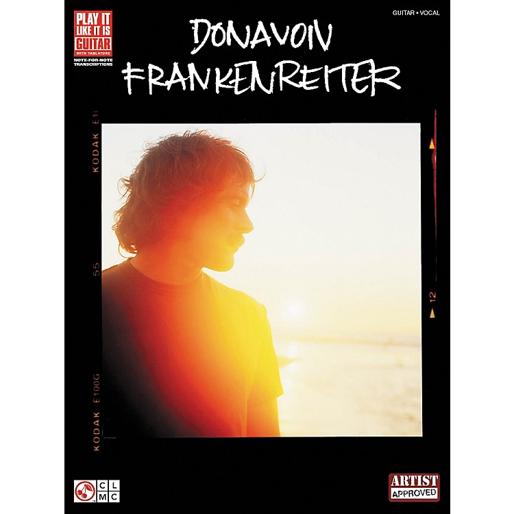 Hal LeonardDonavon Frankenreiter Guitar Tab Songbook