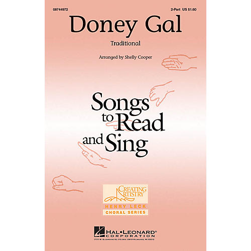 Hal Leonard Doney Gal 2-Part arranged by Shelly Cooper-thumbnail