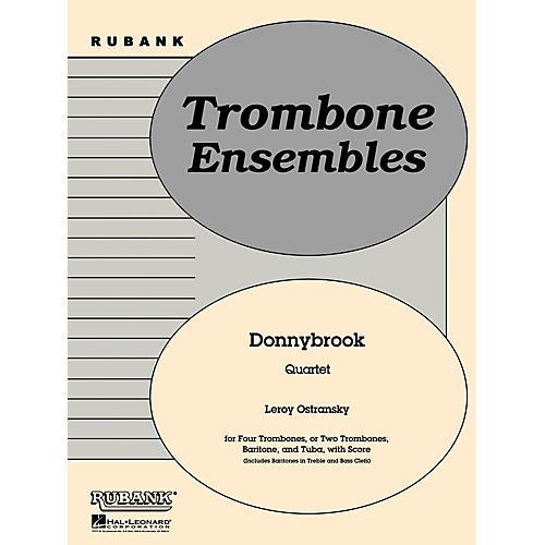 Rubank Publications Donnybrook (Trombone or Brass Quartet - Grade 2) Rubank Solo/Ensemble Sheet Series-thumbnail