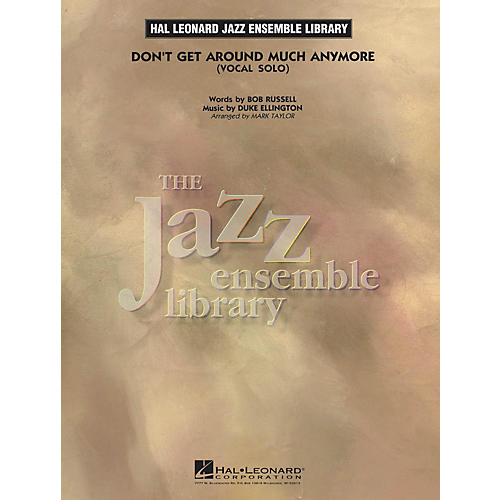 Hal Leonard Don't Get Around Much Anymore (Key: Ab) Jazz Band Level 3-4