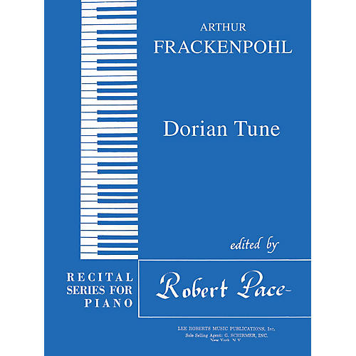 Lee Roberts Dorian Tune (Recital Series for Piano, Blue (Book I)) Pace Piano Education Series by Arthur Frackenpohl-thumbnail