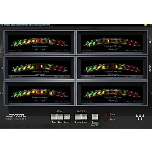 Waves Dorrough Surround Meter TDM/SOUNDGRID Software  Download