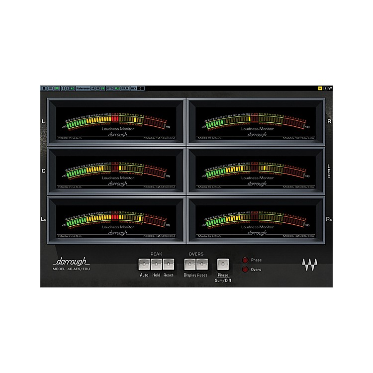 WavesDorrough Surround Meter TDM/SOUNDGRIDSoftware  Download