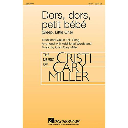 Hal Leonard Dors, dors, petit bébé (Sleep, Little One) 2-Part arranged by Cristi Cary Miller-thumbnail