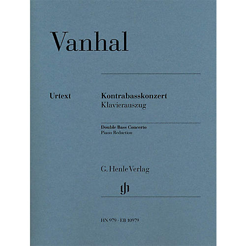 G. Henle Verlag Double Bass Concerto (Double Bass with Piano Reduction) Henle Music Folios Series-thumbnail