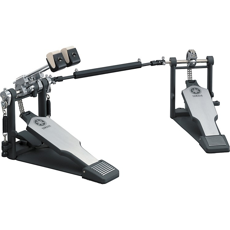 YamahaDouble Bass Drum Pedal, Double Chain Drive, Left Footed