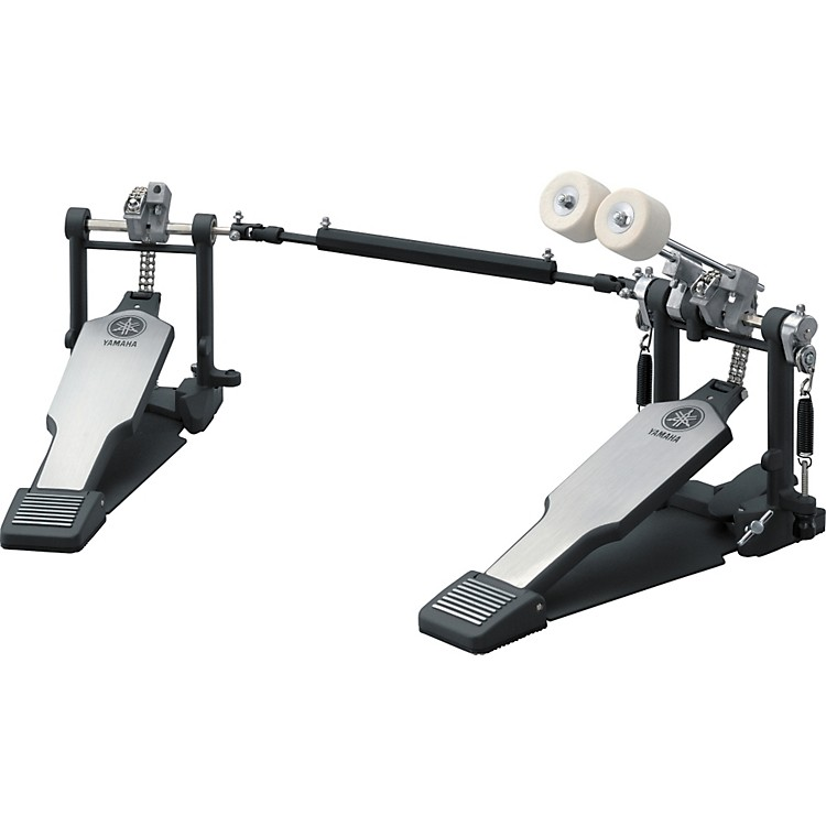 YamahaDouble Bass Drum Pedal, Double Chain Drive with Long Footboards