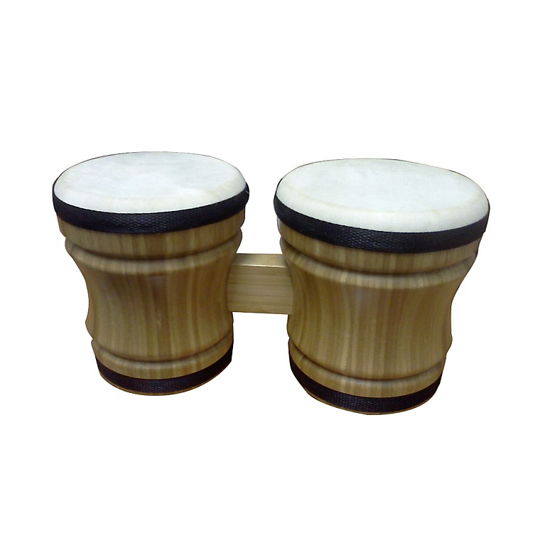 Rhythm Band Double Bongo Bamboo