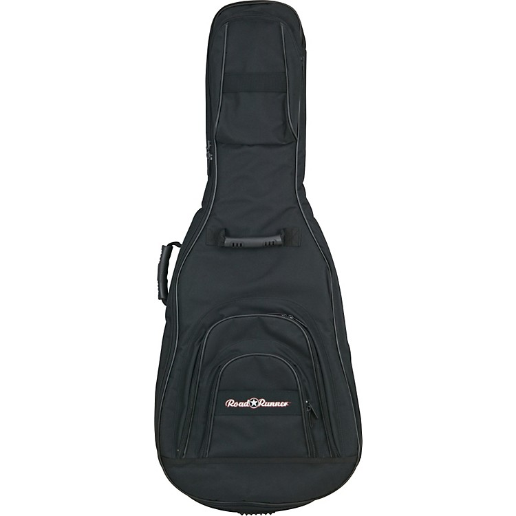 Road Runner Double Electric Guitar Gig Bag Black