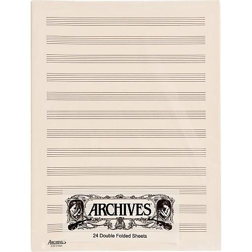Archives Double Folded Manuscript Paper