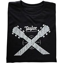 Taylor Double Neck T-Shirt Black