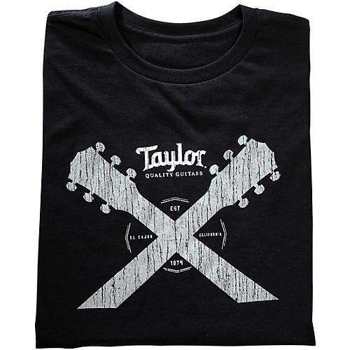 Taylor Double Neck T-Shirt Black-thumbnail