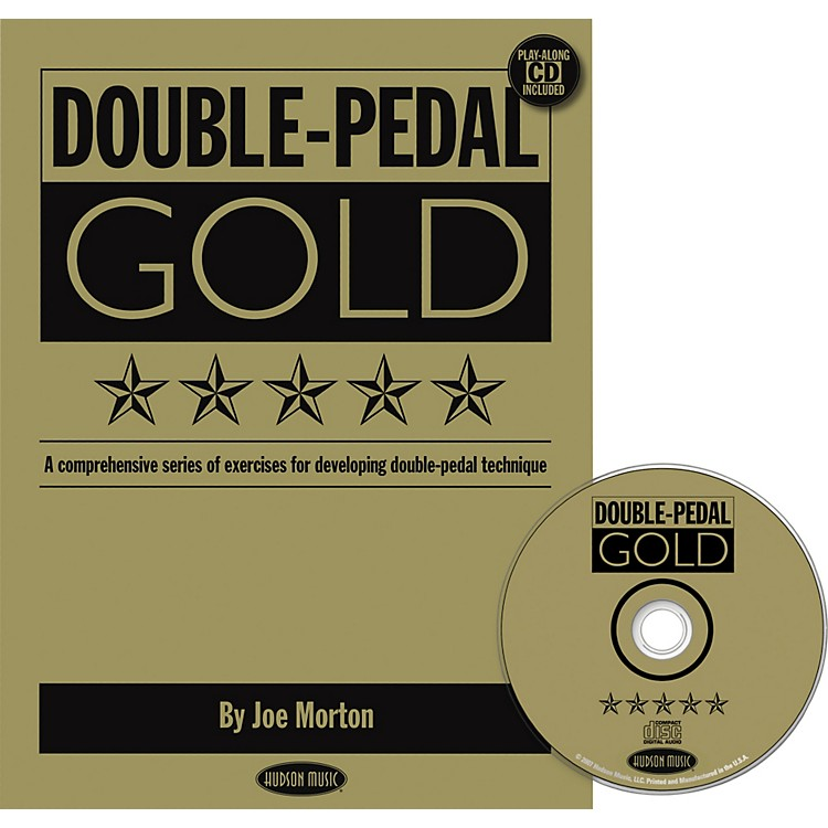 Hudson Music Double Pedal Gold Book and CD