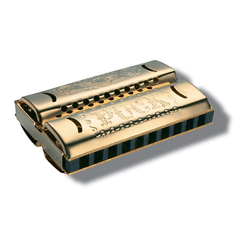 Hohner Double Puck Harmonica-thumbnail