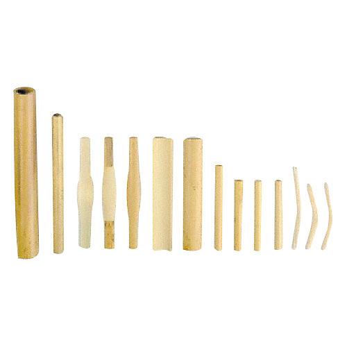 Vandoren Double Reed Cane Oboe - Gouged / Shaped, Medium  (10 Pcs)
