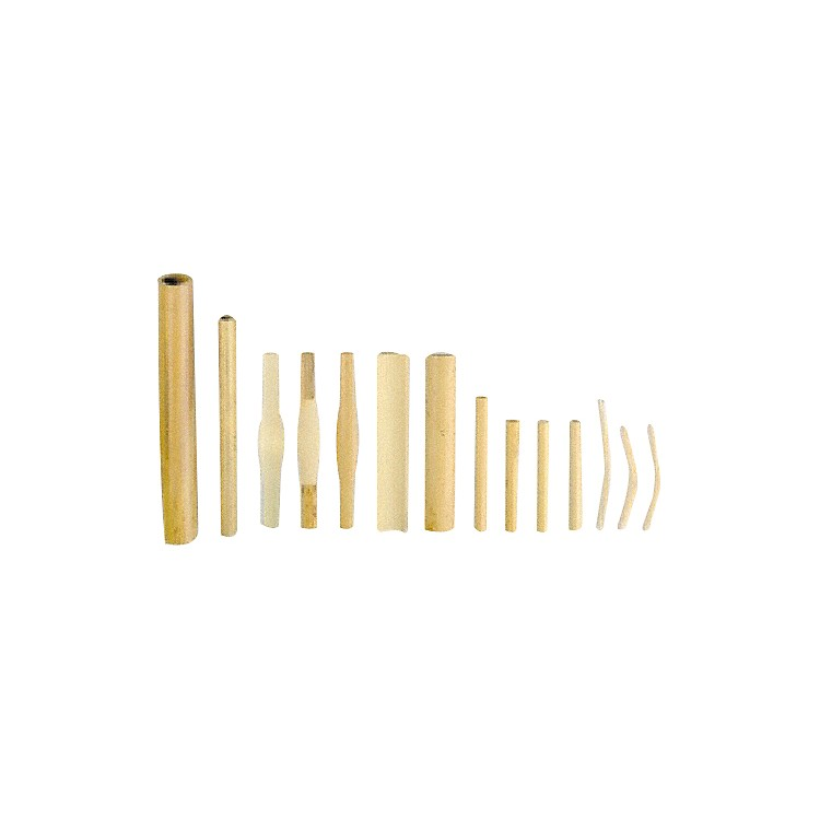 Vandoren Double Reed Cane Oboe - Gouged / Shaped, Medium  (10 Pcs)