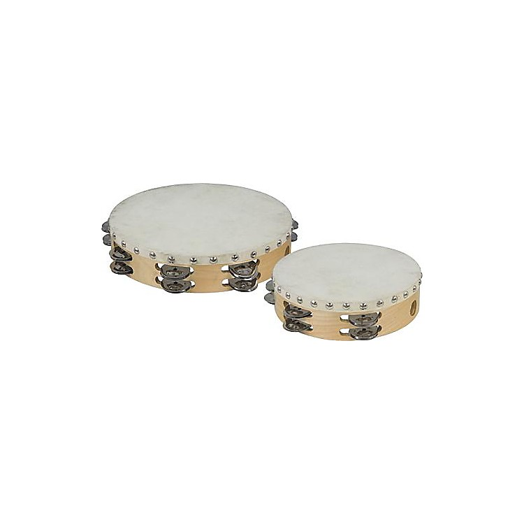 Cannon Percussion Double-Row Tambourine  10 Inches