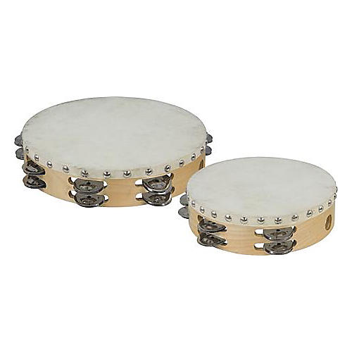 Cannon Percussion Double-Row Tambourine  8 in.