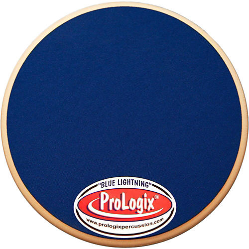ProLogix Percussion Double-Sided Combo Practice Pad 6 in. Red Storm/Blue Lightning