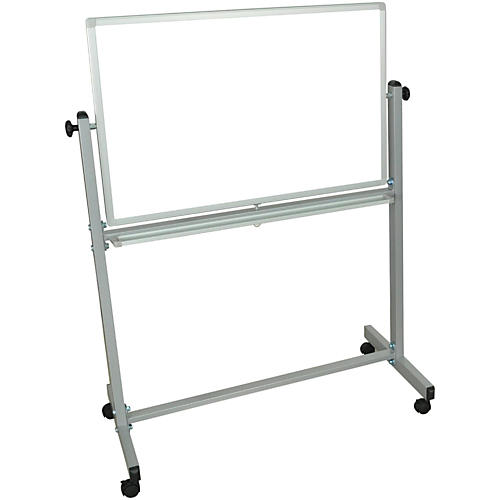 H. Wilson Double-Sided Mobile Whiteboard 36 x 24 in.