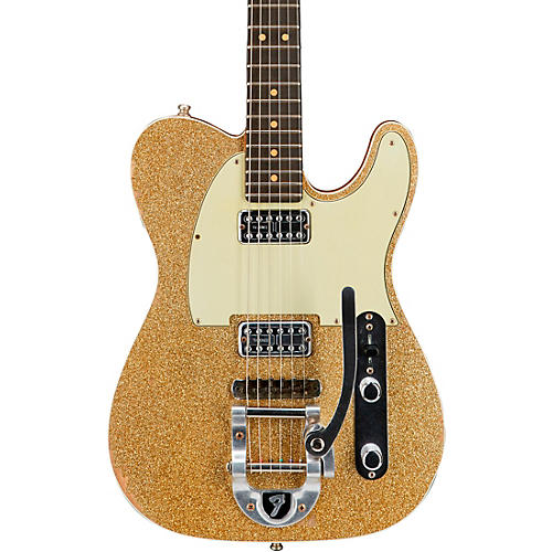 Fender Custom Shop Double TV Jones Telecaster Relic Electric Guitar with Bigsby-thumbnail