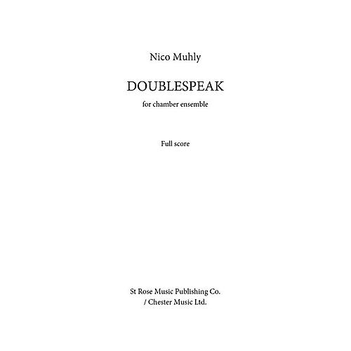 Music Sales Doublespeak Music Sales America Series by Nico Muhly-thumbnail